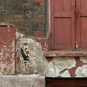 Shuttered Window and Peeling Paint, Spitalfields, London by Richard Bryant
