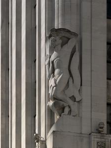 Statue Detail, London by Richard Bryant