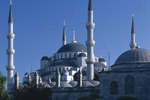Sultan Ahmed Mosque, Istanbul. Also known as the blue Mosque by Richard Bryant