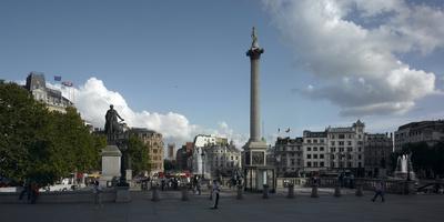 Trafalgar Square Panorama, Westminster, London