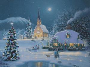 Christmas Lake by Richard Burns