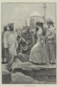 A Street Conjurer in Algiers by Richard Caton Woodville II
