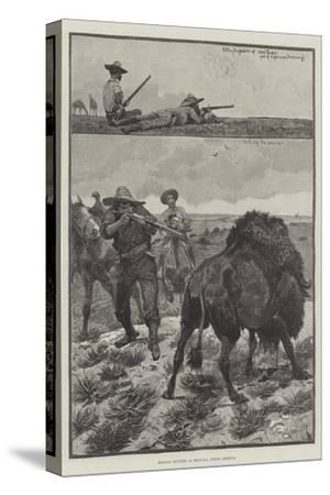 Buffalo Hunters in Montana, North America