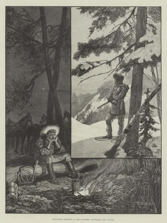 Christmas Morning in the Colonies, Australia and Canada by Richard Caton Woodville II