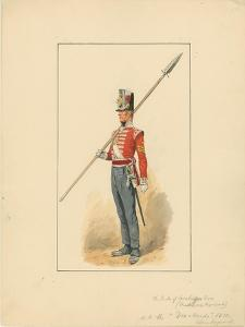 Colour Sergeant of the Duke of Cambridge's Own, Middlesex Regiment, 1910 by Richard Caton Woodville II