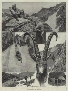 Ibex-Shooting in the Himalayas by Richard Caton Woodville II