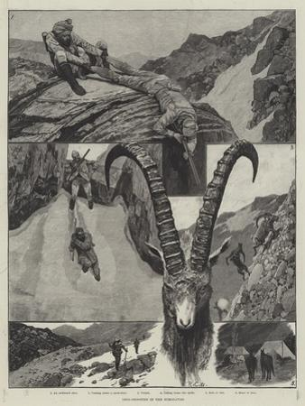 Ibex-Shooting in the Himalayas
