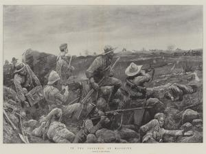 In the Trenches at Mafeking by Richard Caton Woodville II