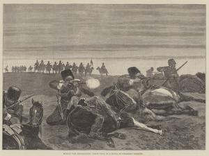Russian War Preparations, Firing Drill of a Sotnia of Circassian Cossacks by Richard Caton Woodville II