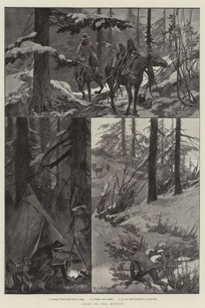 Sport in the Rockies by Richard Caton Woodville II
