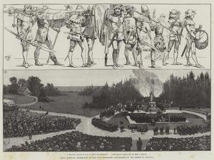 Swiss National Celebration of the Five Hundredth Anniversary of the Battle of Sempach by Richard Caton Woodville II