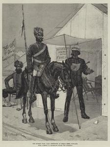 The Afghan War, Camp Orderlies at Meean Meer, Punjaub by Richard Caton Woodville II