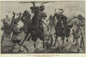 The Battle of Tel-El-Kebir, the 13th Bengal Lancers in Pursuit of Fugitives by Richard Caton Woodville II