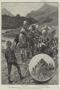 The Black Mountain Expedition, General Elles and Staff Getting First Sight of the Enemy at Shringri by Richard Caton Woodville II