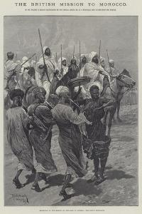 The British Mission to Morocco by Richard Caton Woodville II