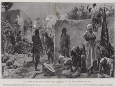 The Capture of Yola, Benue, Northern Nigeria, on 2 September, by the West African Frontier Force