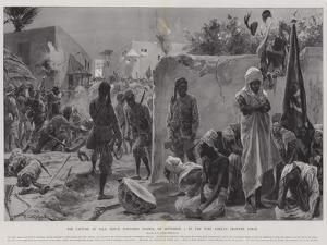 The Capture of Yola, Benue, Northern Nigeria, on 2 September, by the West African Frontier Force by Richard Caton Woodville II