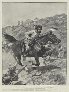The Indian Frontier Rising, Saving the Guns, an Incident of the Action of 16 September by Richard Caton Woodville II