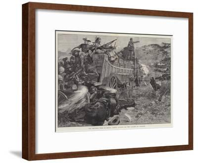 The Matabili War in South Africa, Attack on the Laager of Wagons