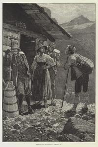 The Tourist in Switzerland by Richard Caton Woodville II