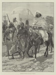 Transport of Moorish Prisoners in Morocco by Richard Caton Woodville II