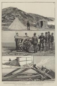 Turkish Artillery Experiments with Dynamite Shells at the Dardanelles by Richard Caton Woodville II