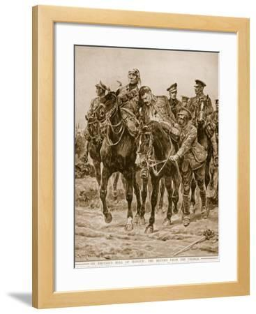 On Britain's Roll of Honour: The Return from the Charge