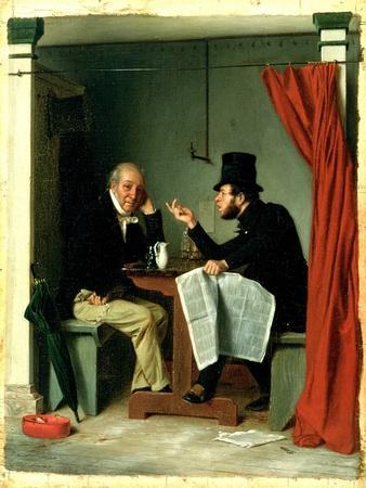 Politics in an Oyster House, 1848