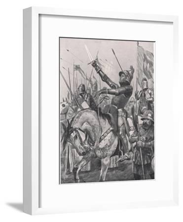 The Death of Henry Hotspur, 21st July 1403, Illustration from 'British Battles on Land and Sea',…