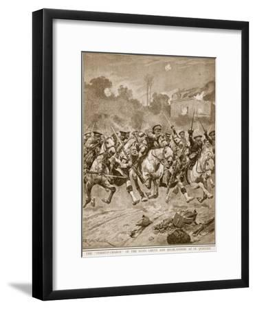 The 'stirrup-Charge' of the Scots Greys and Highlanders at St. Quentin, 1914-19