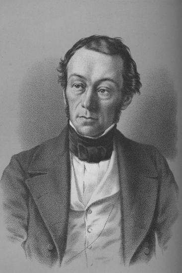 Richard Cobden, British manufacturer, politician, and free trade campaigner, c1850-Unknown-Giclee Print