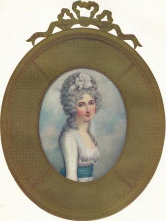 Miniature Portrait of Katherine, Lady Manners, Later Lady Huntingtower, 1787, (1907)