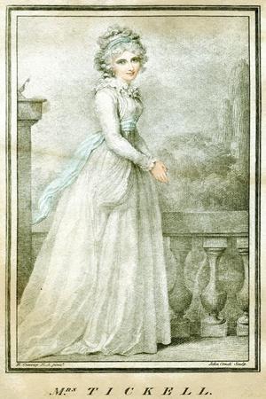 Mrs Tickell, C1780-1810