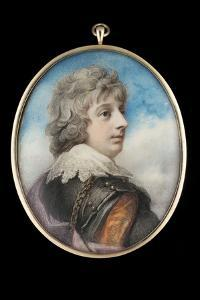 Portrait of William, 3rd Viscount Courtenay by Richard Cosway