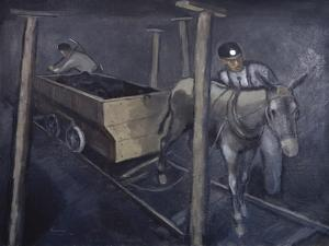 The Old Mine Mule by Richard Crist