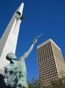 Air Force Monument, Downtown Oklahoma City, Oklahoma, United States of America, North America by Richard Cummins