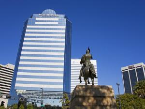 Andrew Jackson Statue, Jacksonville, Florida, United States of America, North America by Richard Cummins