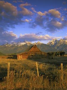Barn in Historic Homestead Mormon Row by Richard Cummins