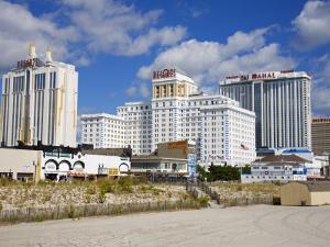 Boardwalk Casinos, Atlantic City, New Jersey, United States of America, North America by Richard Cummins