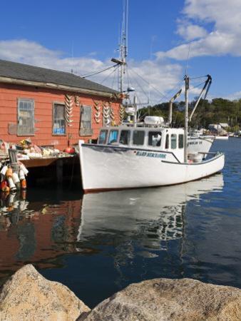 Boathouse in Rocky Neck, Gloucester, Cape Ann, Greater Boston Area, Massachusetts, New England, USA by Richard Cummins