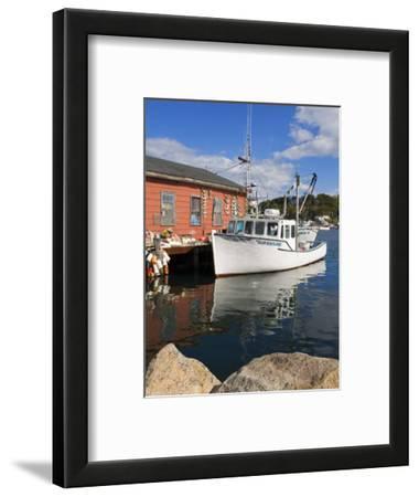 Boathouse in Rocky Neck, Gloucester, Cape Ann, Greater Boston Area, Massachusetts, New England, USA