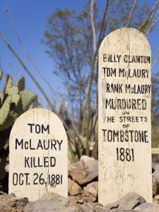 Boothill Graveyard, Tombstone, Cochise County, Arizona, United States of America, North America by Richard Cummins