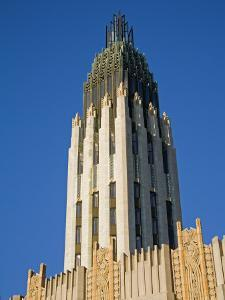 Boston Avenue Art Deco Church, Downtown Tulsa, Oklahoma, USA by Richard Cummins