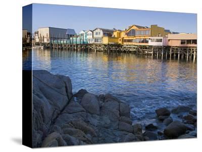 Breakwater Cove and Fisherman's Wharf, Monterey, California, United States of America, North Americ