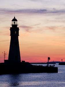 Buffalo Lighthouse, Buffalo Port, New York State, United States of America, North America by Richard Cummins