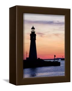 Buffalo Lighthouse, Buffalo Port, New York State, United States of America, North America by Richard Cummins