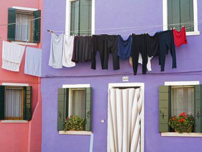 Burano Island, Venice, Veneto, Italy, Europe by Richard Cummins