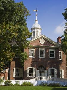 Carpenters' Hall, Independence National Historical Park, Old City District by Richard Cummins