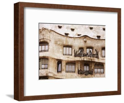 Casa Mila (La Pedrera) By Gaudi, UNESCO World Heritage Site, Barcelona, Catalonia, Spain, Europe