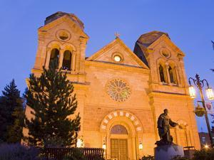 Cathedral Basilica of St. Francis of Assisi, Santa Fe, New Mexico, United States of America, North  by Richard Cummins